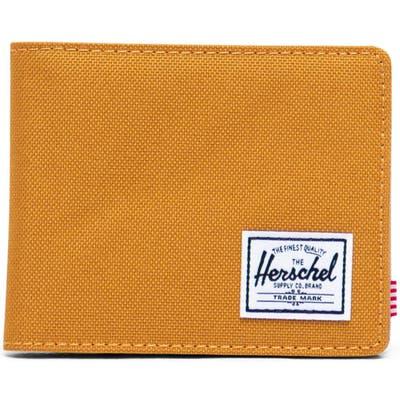 Herschel Supply Co. Hank Rfid Bifold Wallet - Yellow