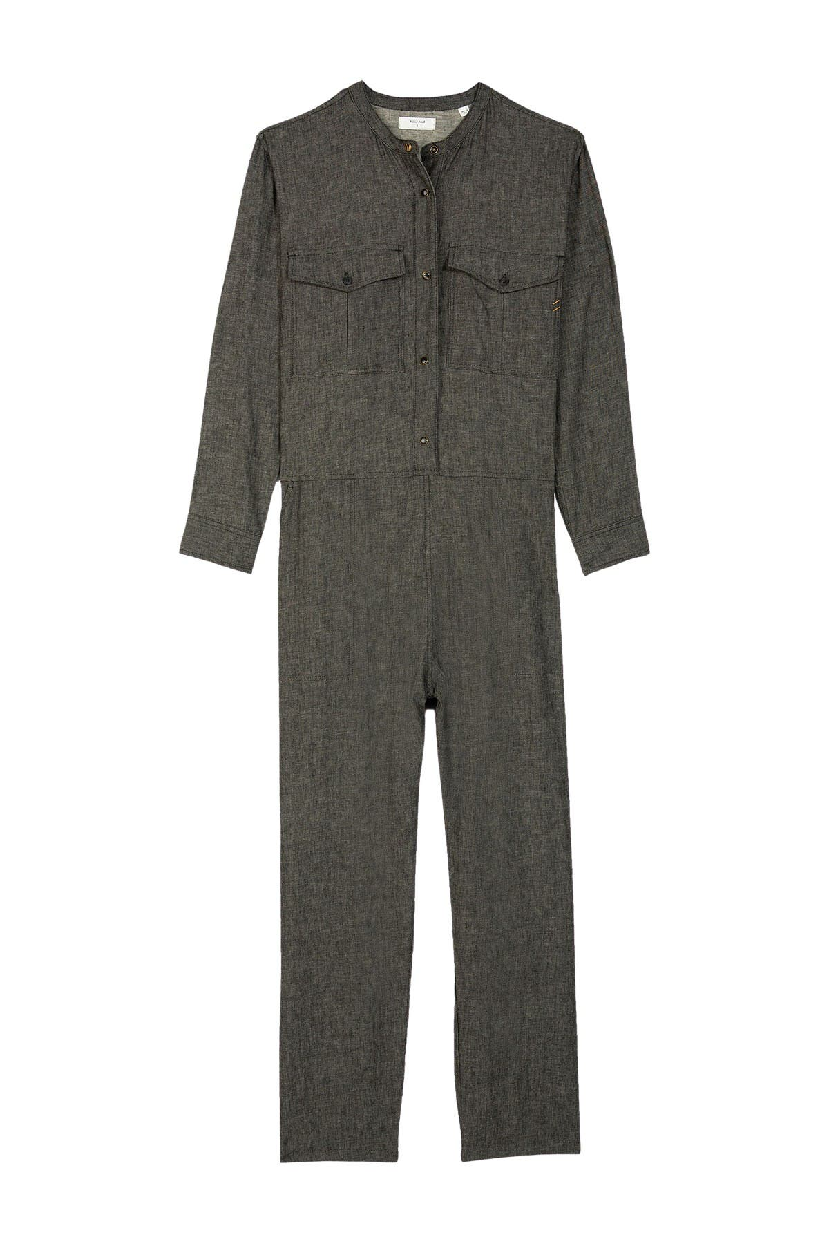 Image of Billy Reid Chambray Jumpsuit