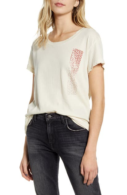 Current Elliott Tops THE RELAXED MATCH GRAPHIC TEE