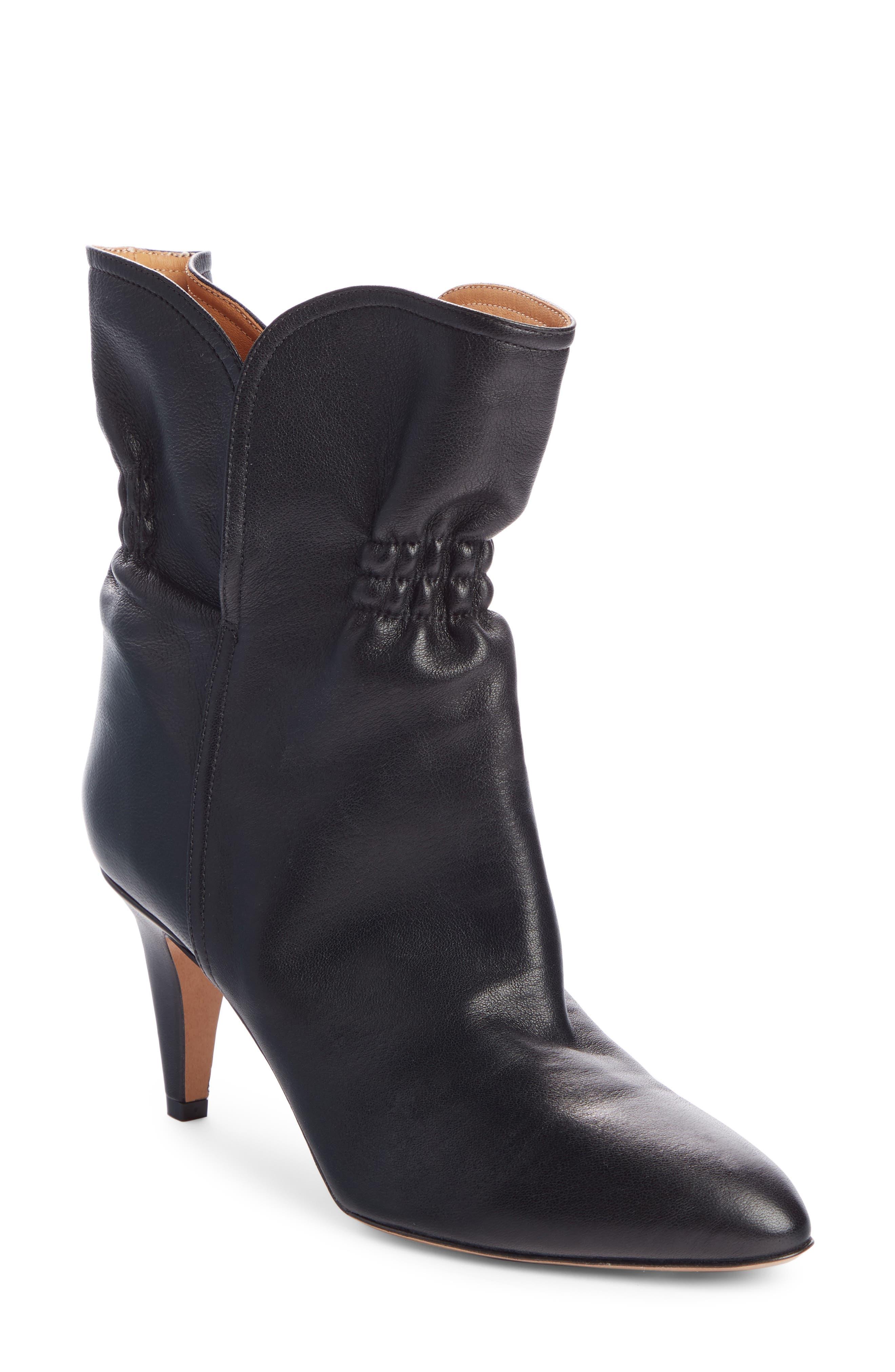 Isabel Marant Boots Dedie Cinched Bootie