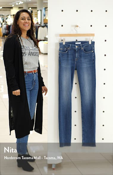 7 For All Mankind Ankle Skinny Jeans, sales video thumbnail