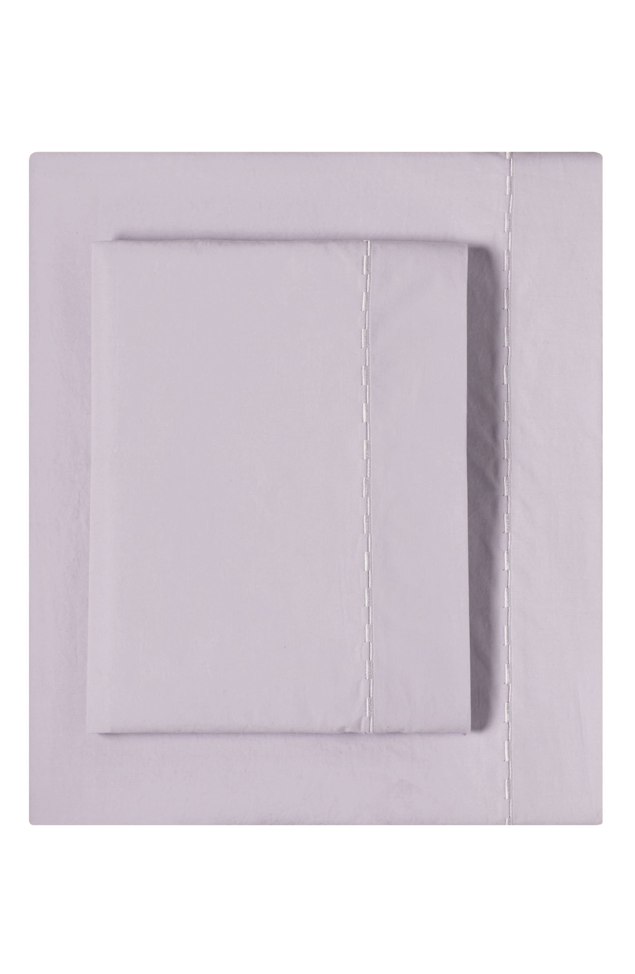 Cotton Percale Sheet Set, Main, color, 027