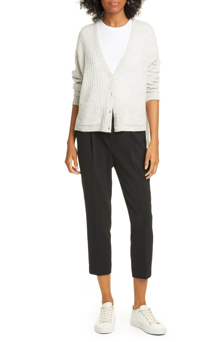 ATM ANTHONY THOMAS MELILLO Micro Twill Pull On Pants, Main, color, BLACK