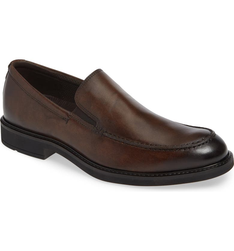 ECCO Vitrus<sup>™</sup> III Moc Toe Loafer, Main, color, COCOA BROWN LEATHER