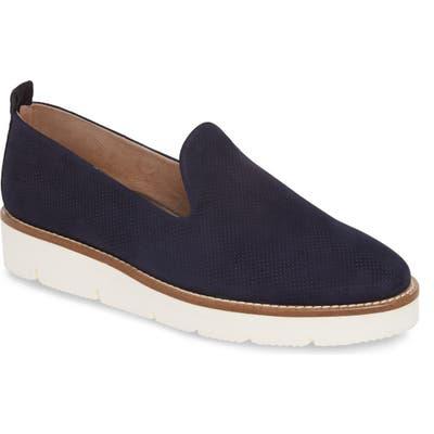 Paul Green Bahama Perforated Slip-On Sneaker, US / 6.5UK - Blue