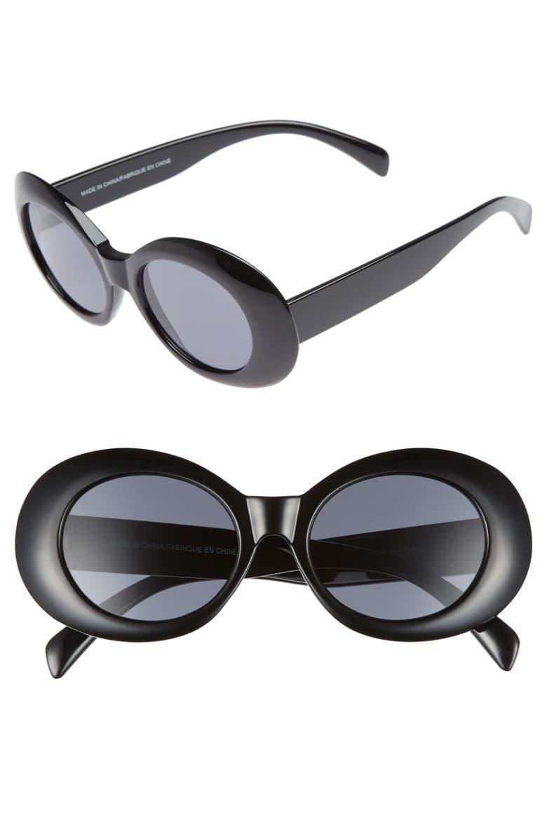 BP. Oval Sunglasses, Main, color, 001