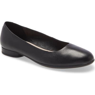Ecco Anine Ballerina Flat, Black