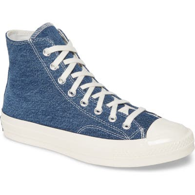 Converse Chuck Taylor All Star Renew 70 High Top Sneaker- Blue