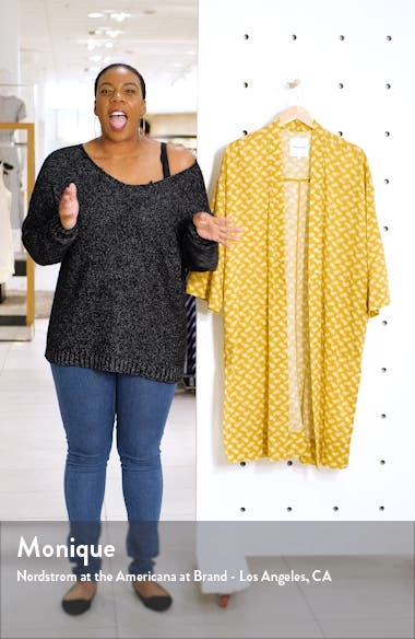 Print Robe Jacket, sales video thumbnail
