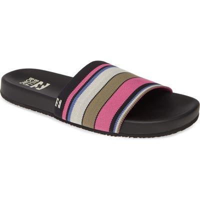 Billabong Surf Retreat Slide Sandal, Pink