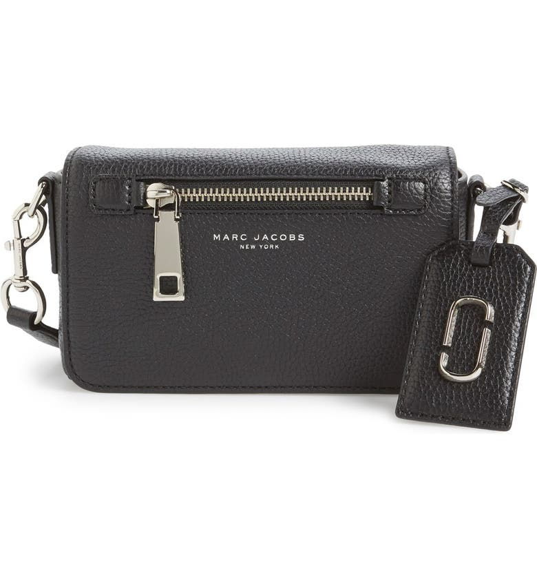 MARC JACOBS 'Gotham' Leather Crossbody Bag, Main, color, 001