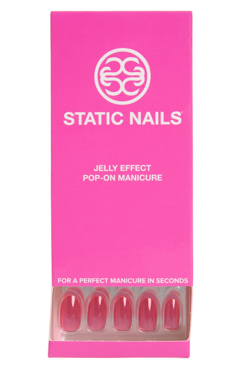 STATIC NAILS Fun Girl Pop-On Reusable Manicure Set, Main, color, 650