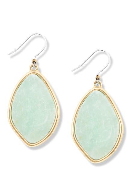 Image of Lucky Brand Amazonite Drop Earrings