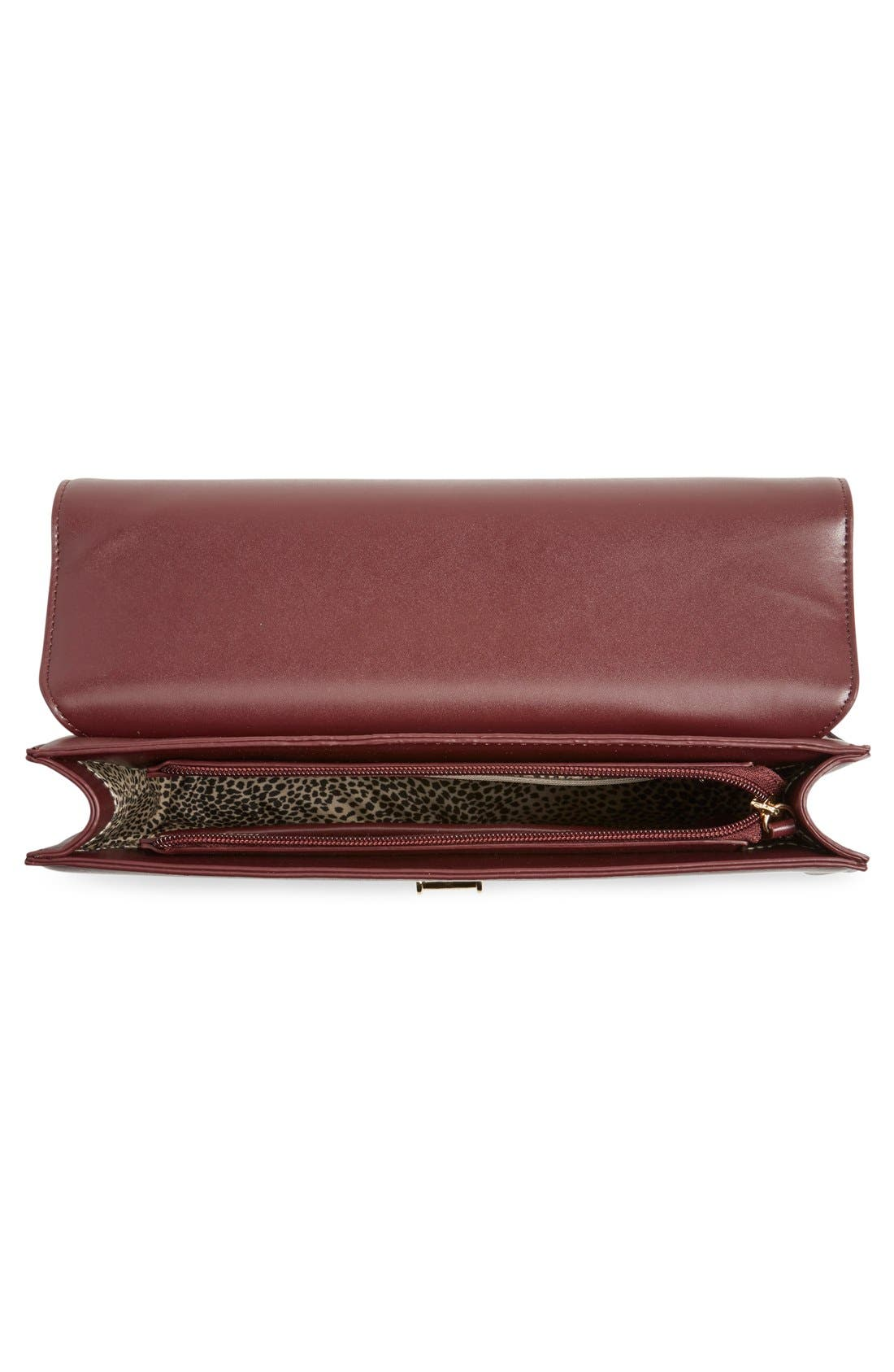 ,                             'Exotic' Boxy Flap Clutch,                             Alternate thumbnail 12, color,                             500