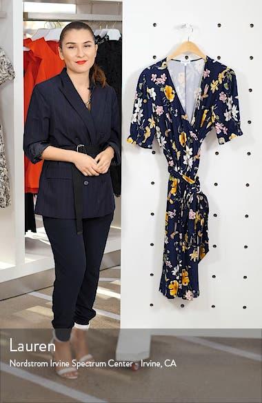 Tuscan Floral Wrap Dress, sales video thumbnail
