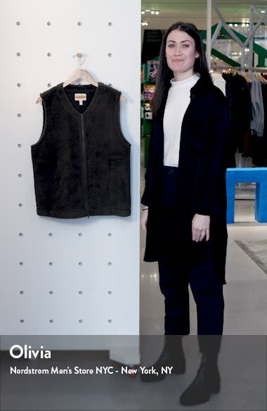 Recycled Polyester Fleece Vest, sales video thumbnail
