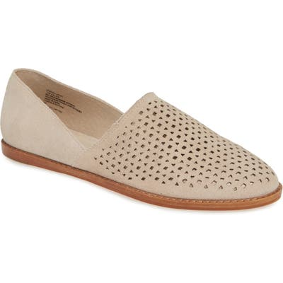 Caslon Adrian Perforated Flat, Beige