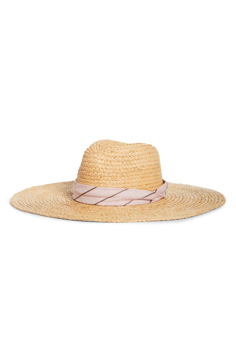 Rag Bone Straw Panama Hat
