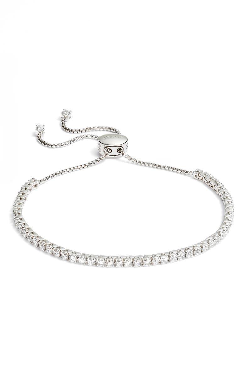 NADRI Cubic Zirconia Tennis Bracelet, Main, color, 040