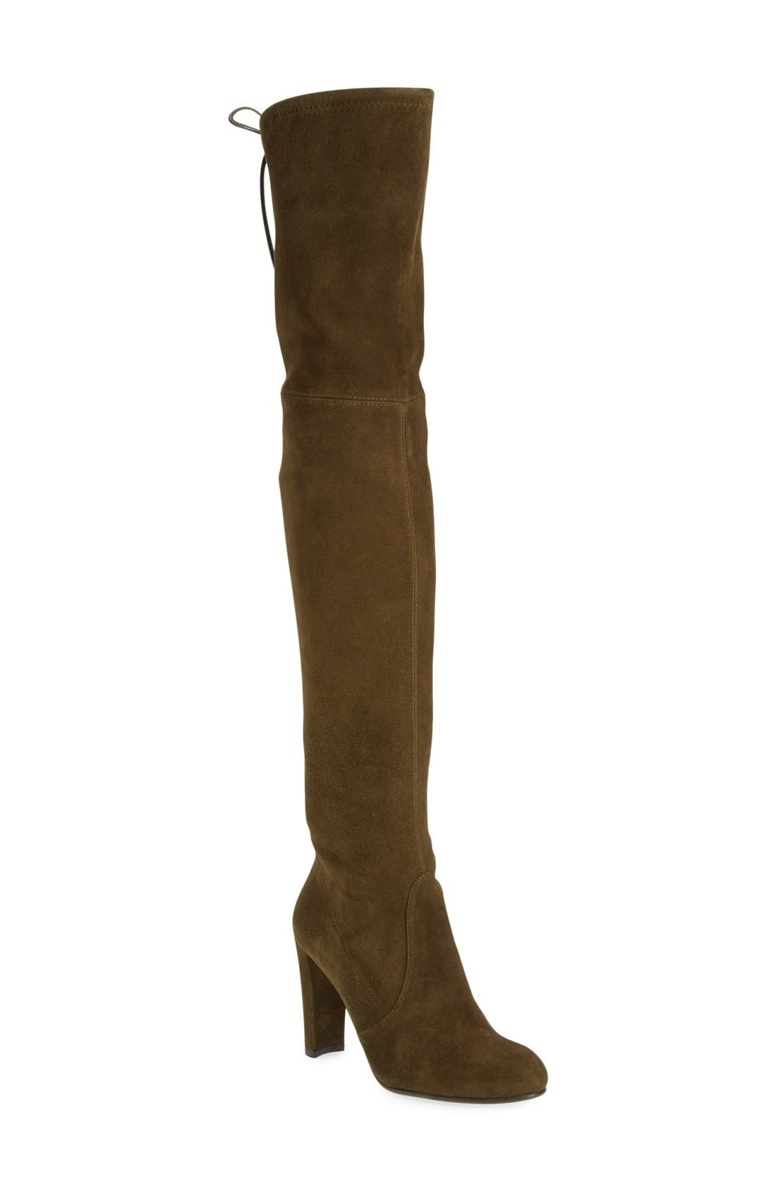 ,                             'Highland' Over the Knee Boot,                             Main thumbnail 55, color,                             301