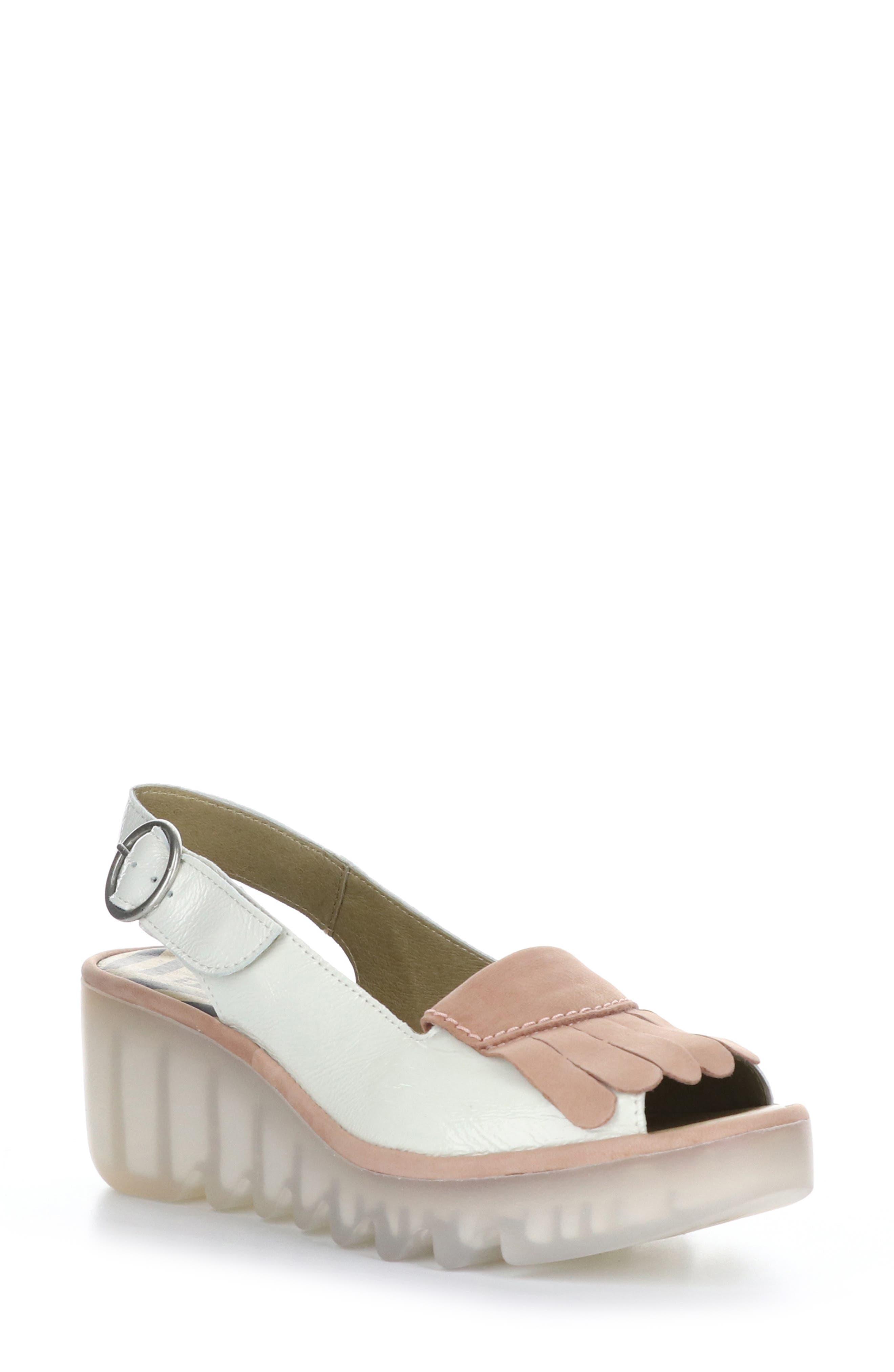 Bind Wedge Slingback Sandal