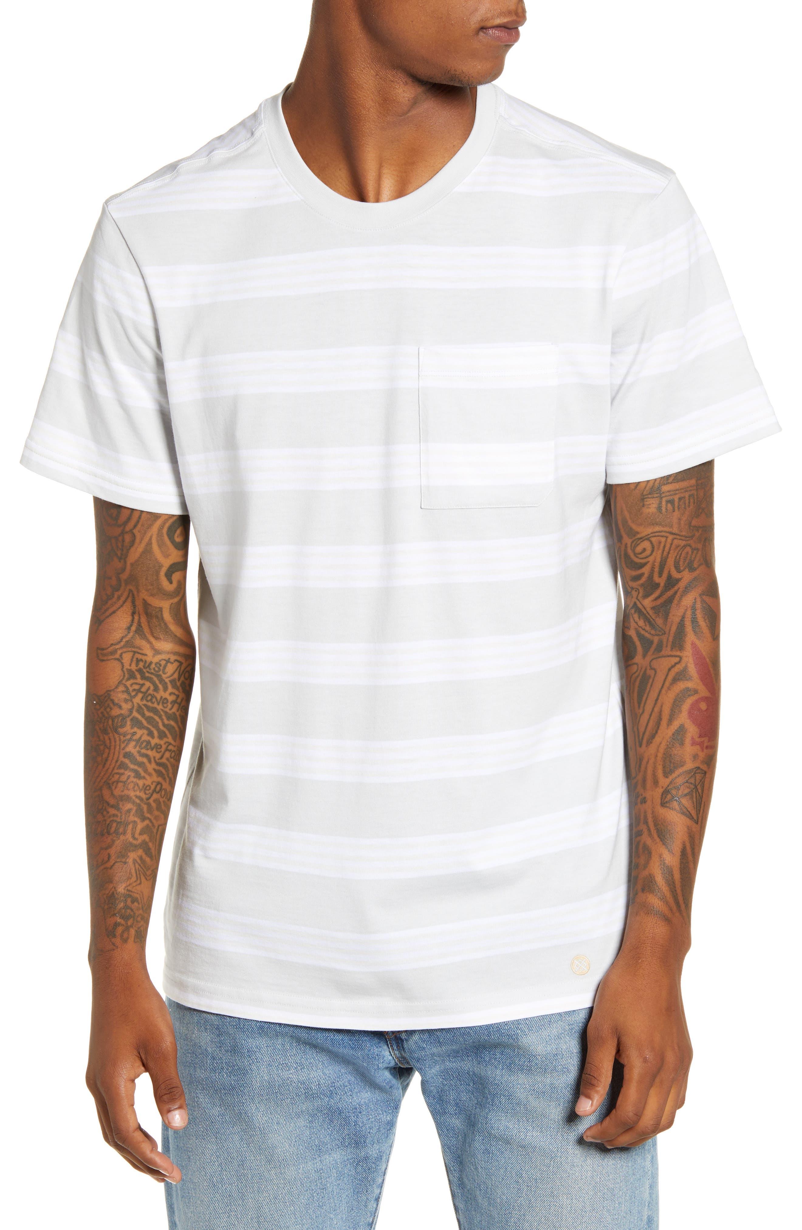 Stance Binder Stripe Pocket T-Shirt