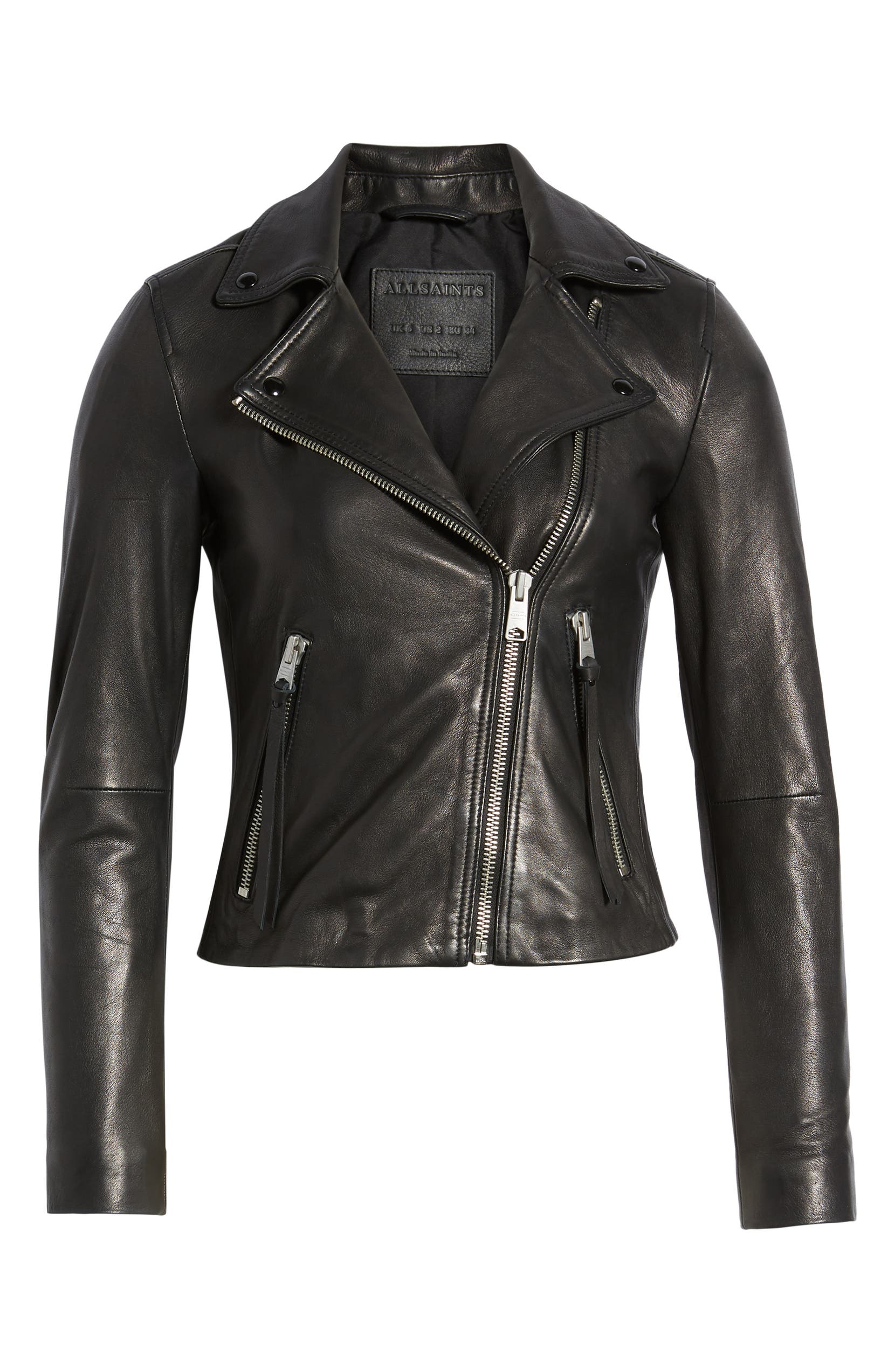 b30e23588 Dalby Leather Biker Jacket