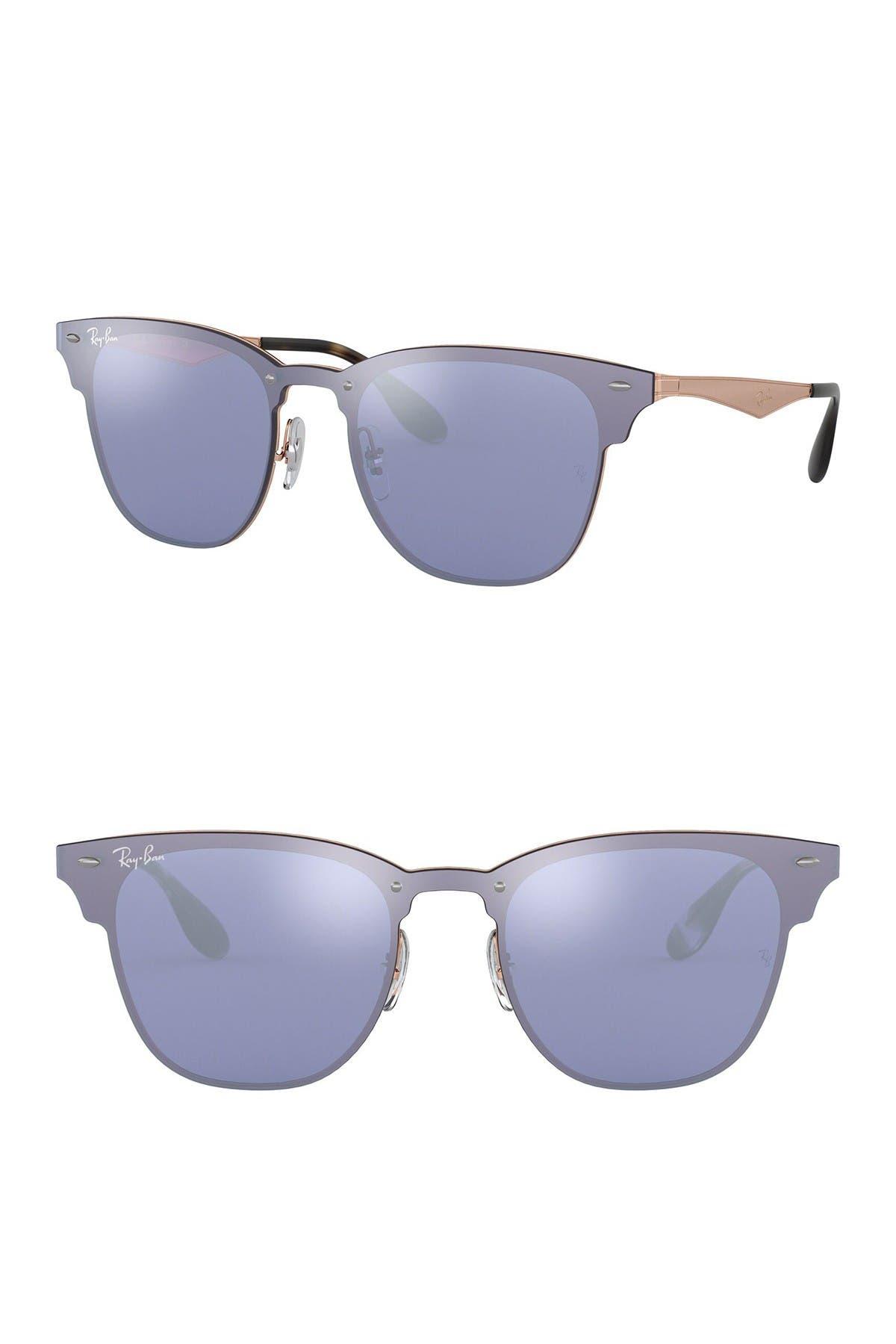 Image of Ray-Ban 41mm Square Shield Sunglasses