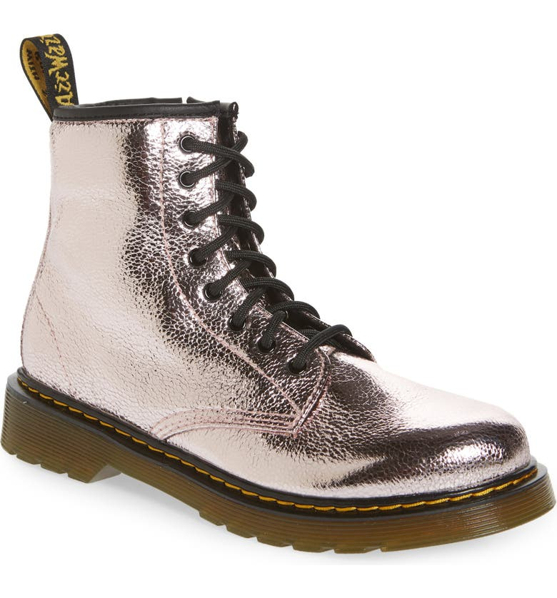 DR. MARTENS 1460 Metallic Boot, Main, color, 650