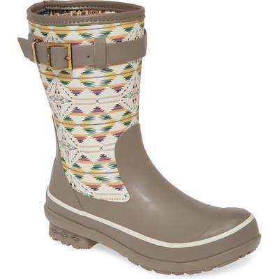 Pendleton Falcon Cove Short Waterproof Rain Boot, Beige