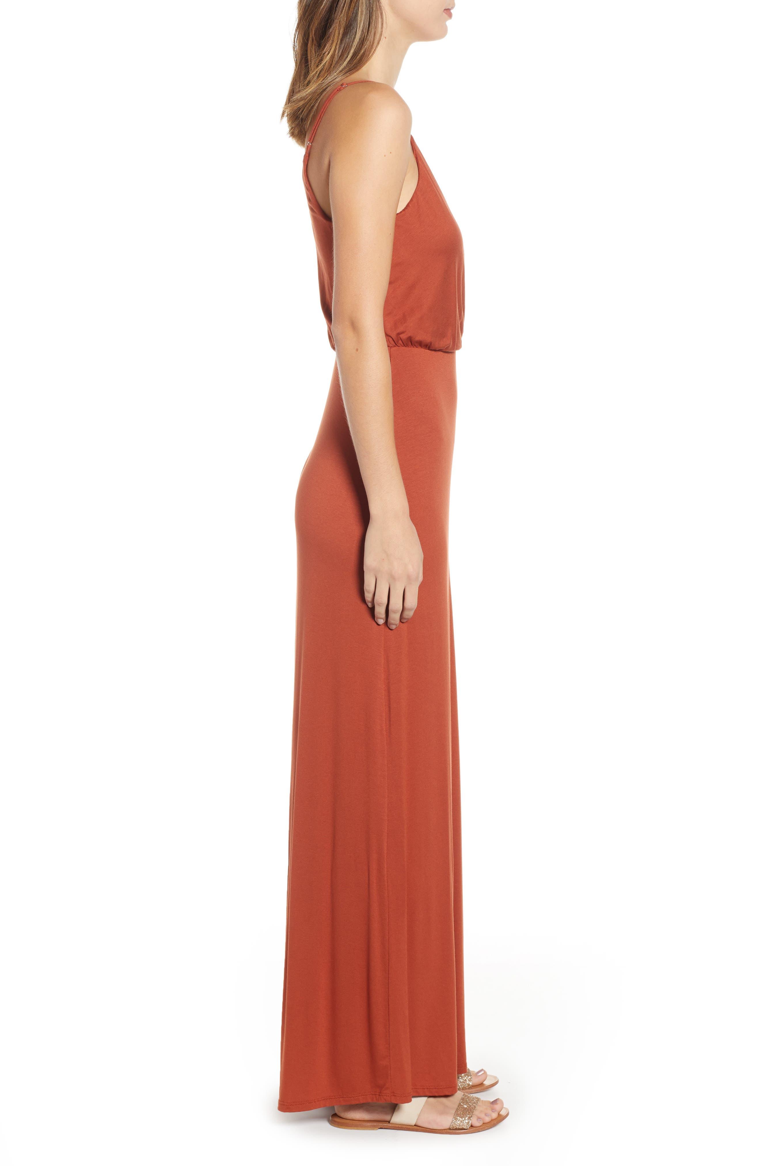 ,                             Surplice Neck Knit Maxi Dress,                             Alternate thumbnail 22, color,                             800