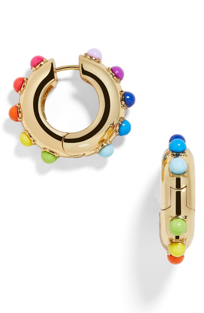 Alaynah Huggie Hoop Earrings by Baublebar