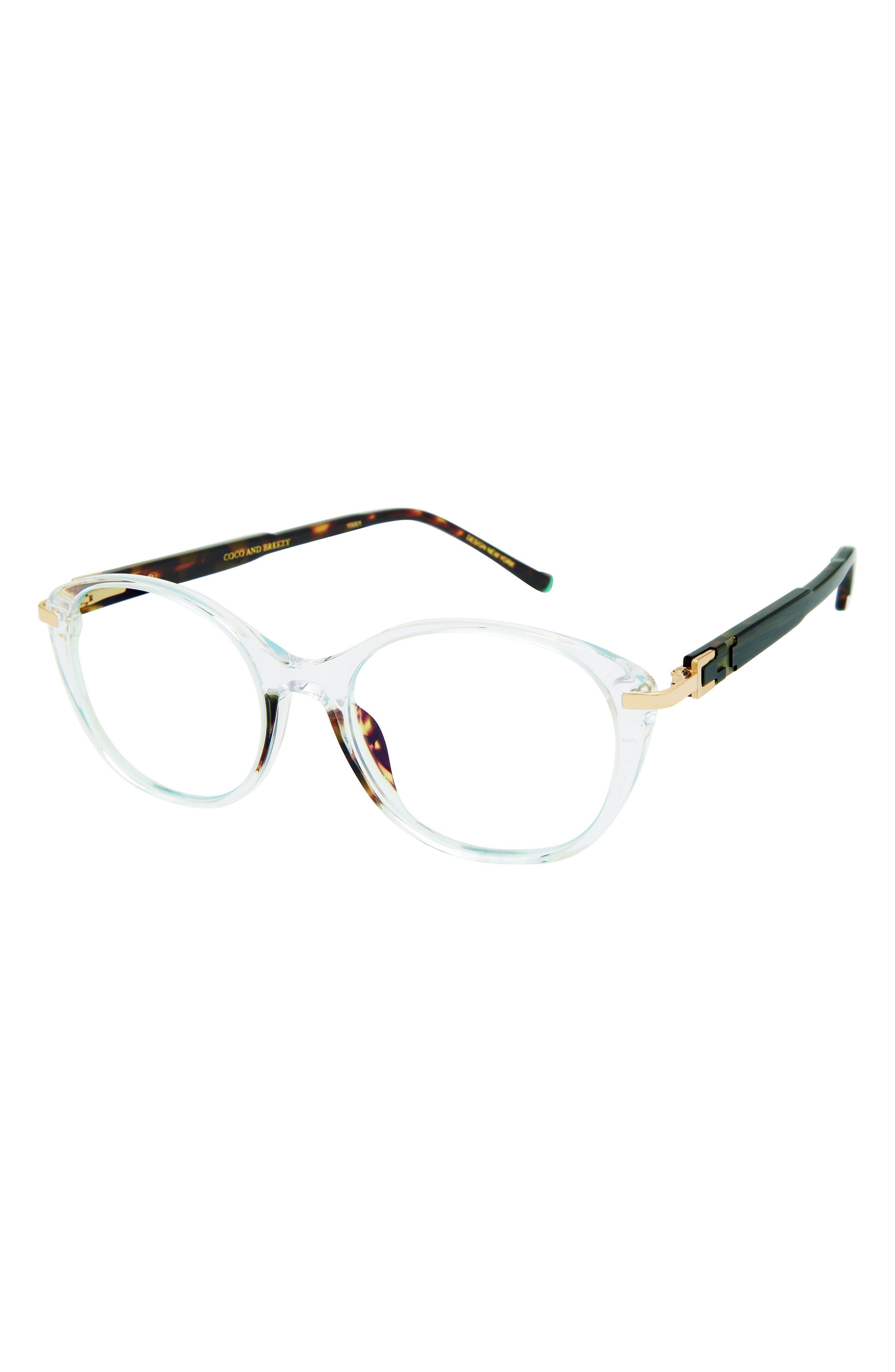 Healing 51mm Round Blue Light Filtering Glasses