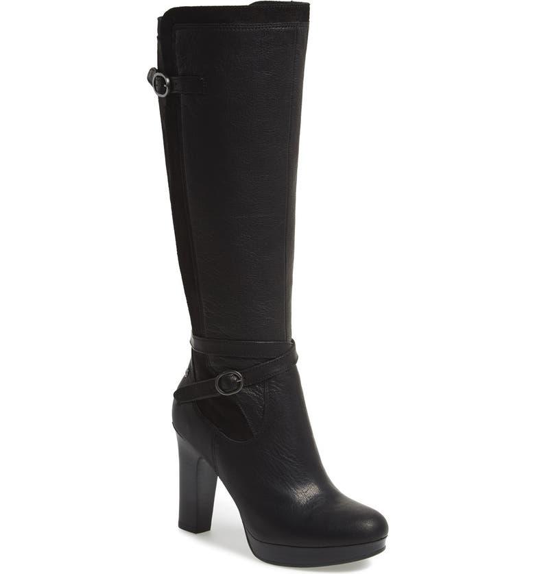 UGG® Australia 'Linde' Leather & Suede Knee High Boot ...