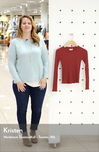 Ribbed Sweater, sales video thumbnail