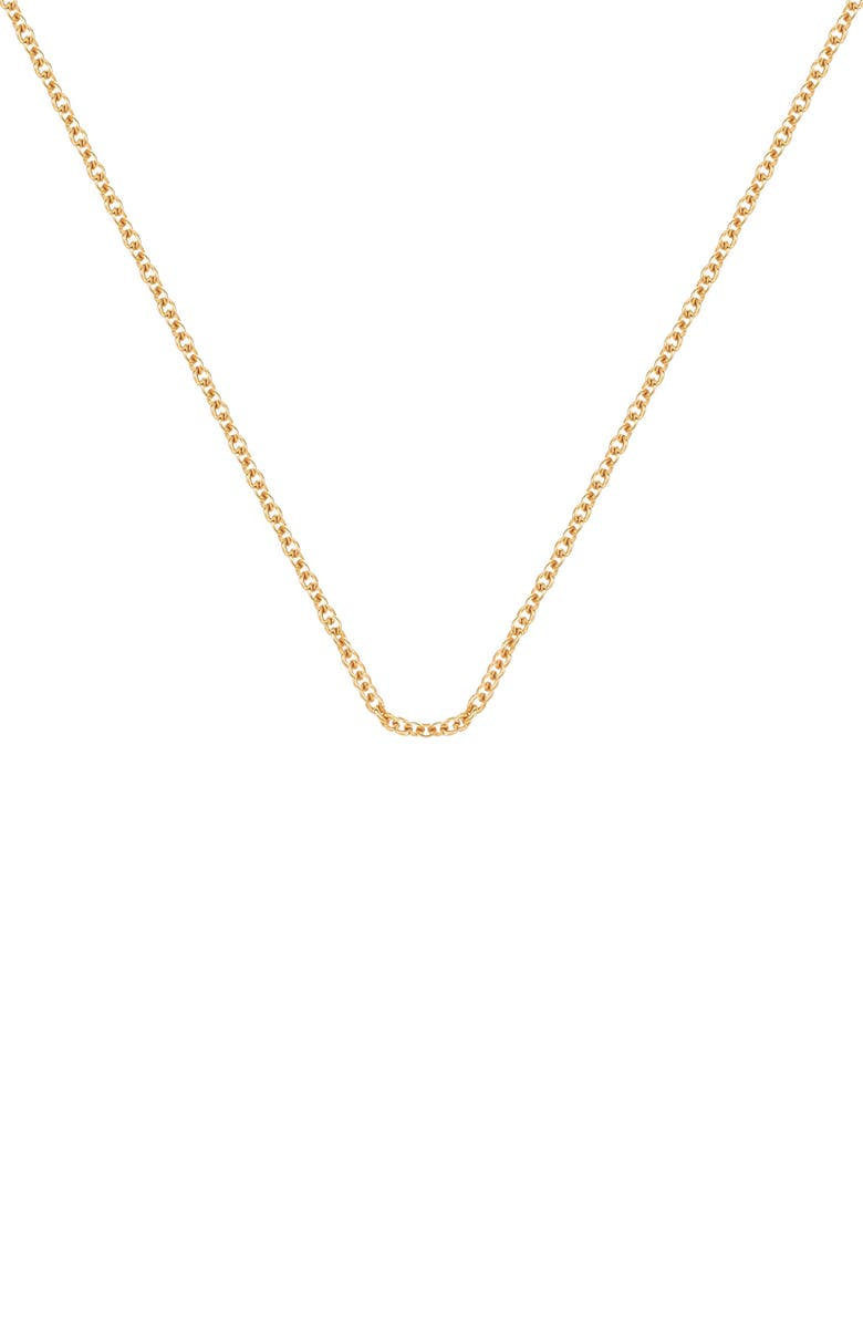 MONICA VINADER 24-Inch Chain, Main, color, GOLD