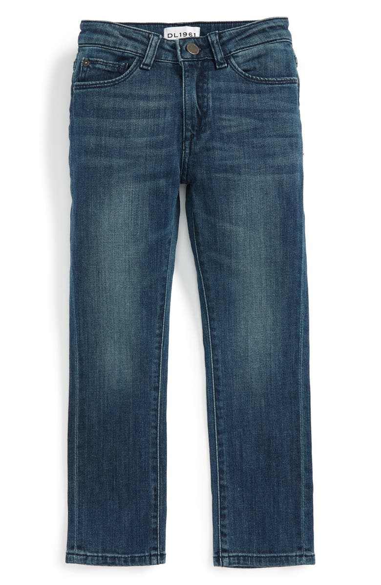 DL1961 'Hawke' Skinny Jeans, Main, color, SCABBARD