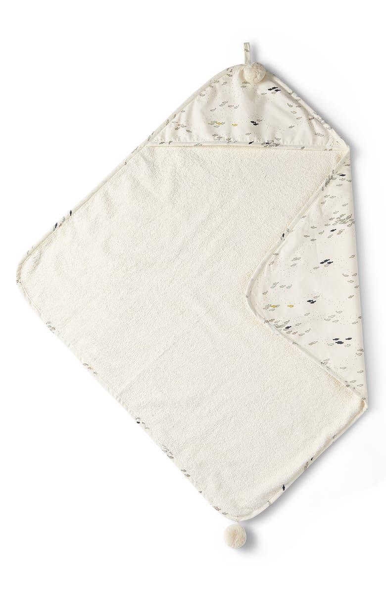 PEHR Minnow Hooded Towel, Main, color, MULTI