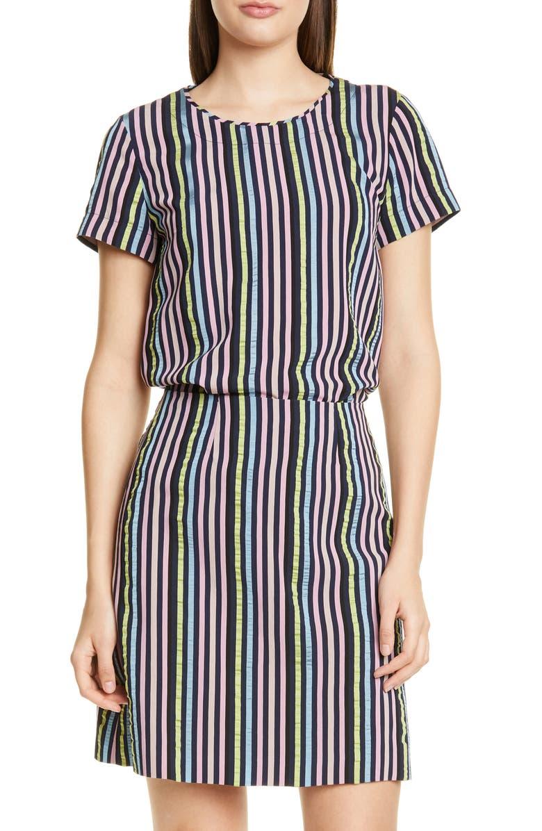 HUGO Clerisa Stripe Top, Main, color, OPEN MISCELLANEOUS