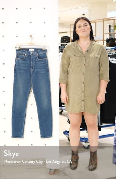 Ultra High Rise Ankle Skinny Jeans, sales video thumbnail
