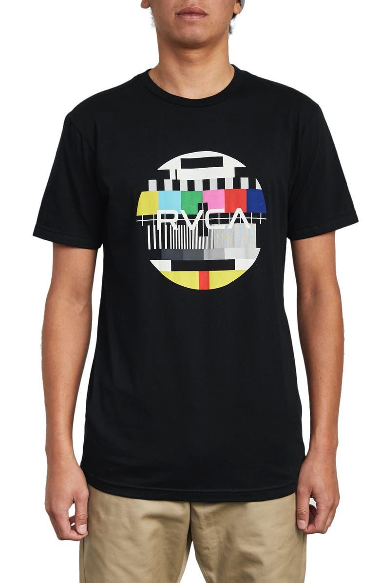 RVCA Motors Fill Graphic T-Shirt, Main, color, 001