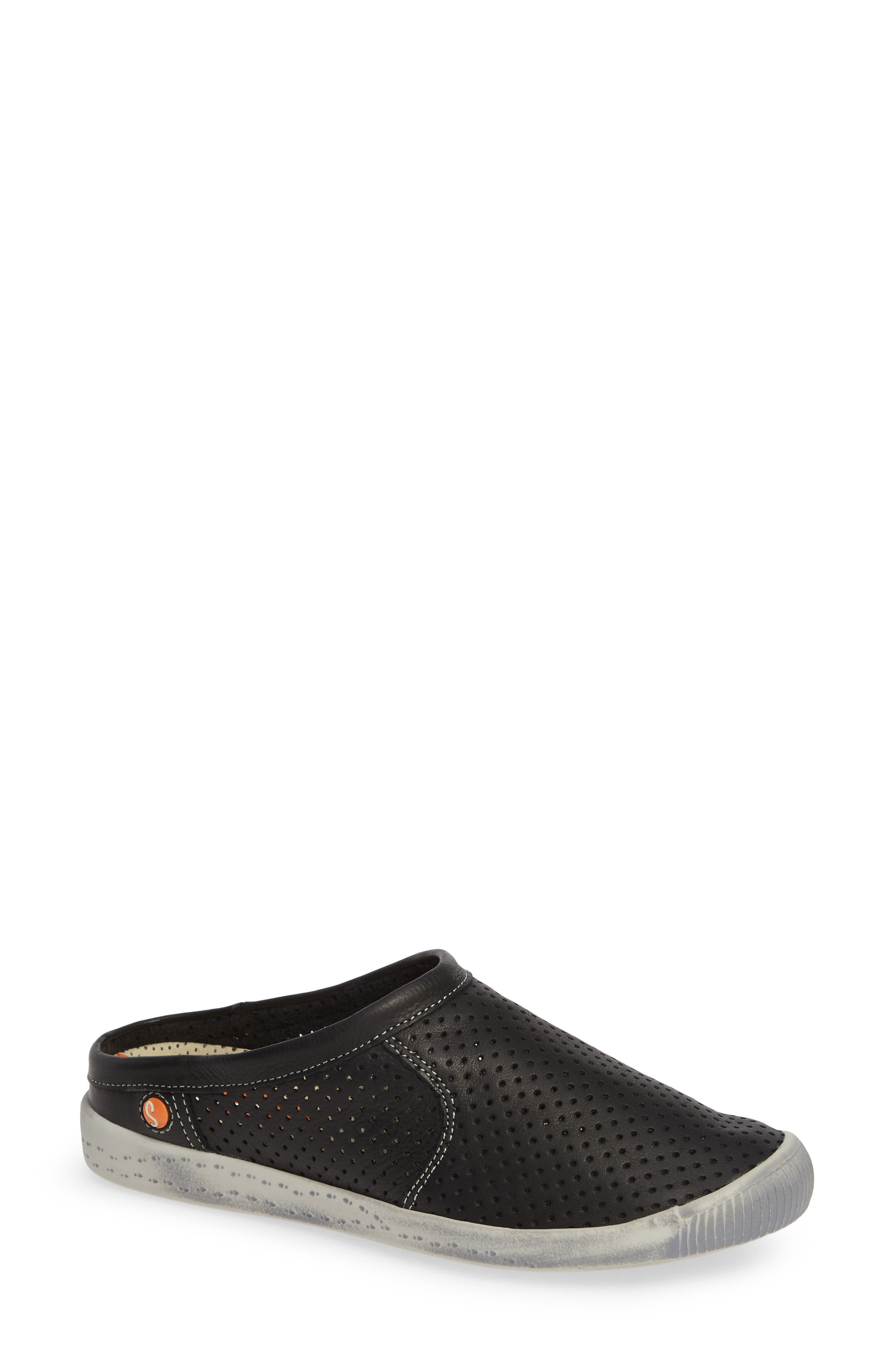 Softinos By Fly London Ima Sneaker Mule, Black
