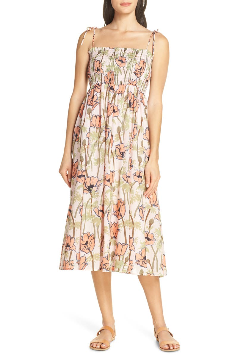 a9c4b05bf6 Painter Iris Convertible Cover-Up Dress, Main, color, PINK POPPIES BLOOM