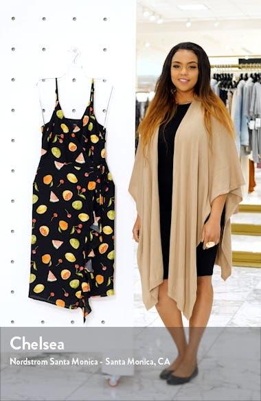 Iris Print Ruffle Wrap Sundress, sales video thumbnail