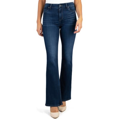 Kut From The Kloth Ellie High Waist Flare Jeans, Blue