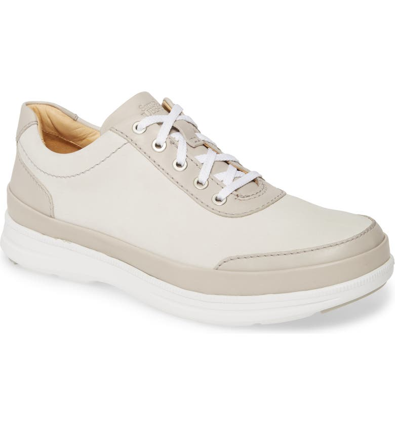 SAMUEL HUBBARD Early Morning Golf Sneaker, Main, color, TAUPE NUBUCK