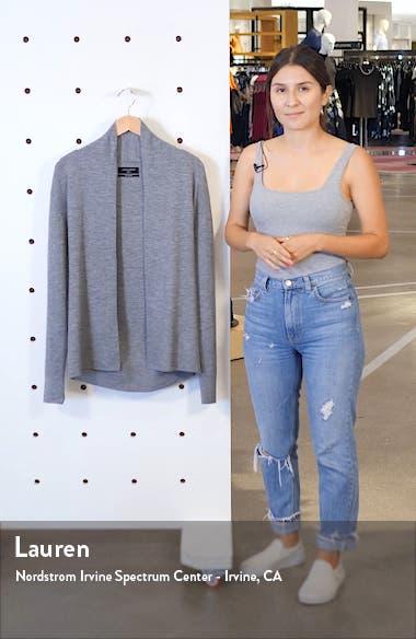 Mode Slim Fit Wool Cardigan, sales video thumbnail