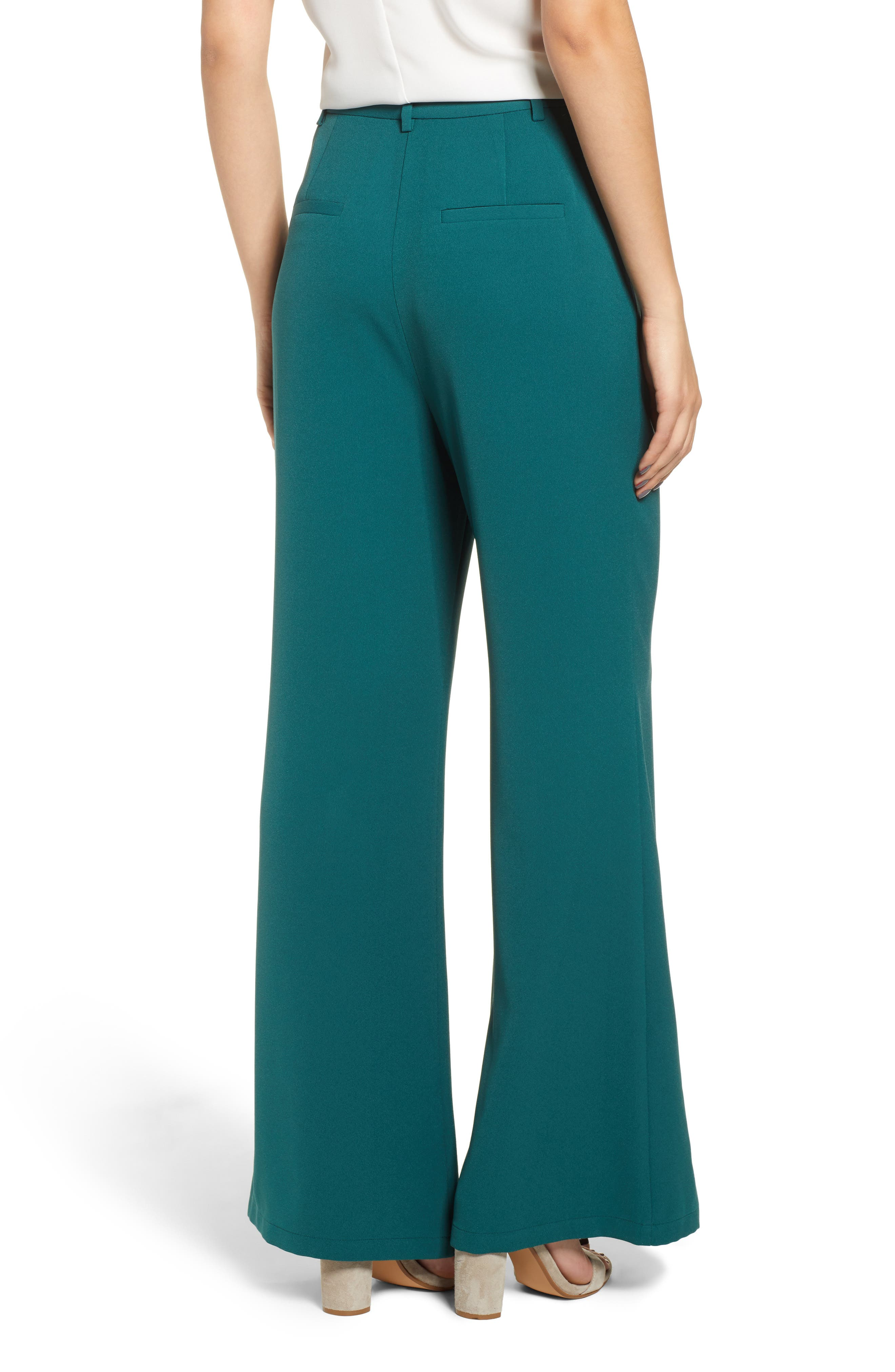 ,                             High Waist Flare Pants,                             Alternate thumbnail 25, color,                             301