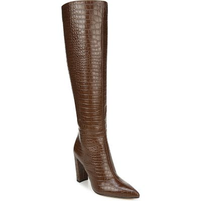 Sam Edelman Raakel Knee High Boot- Brown