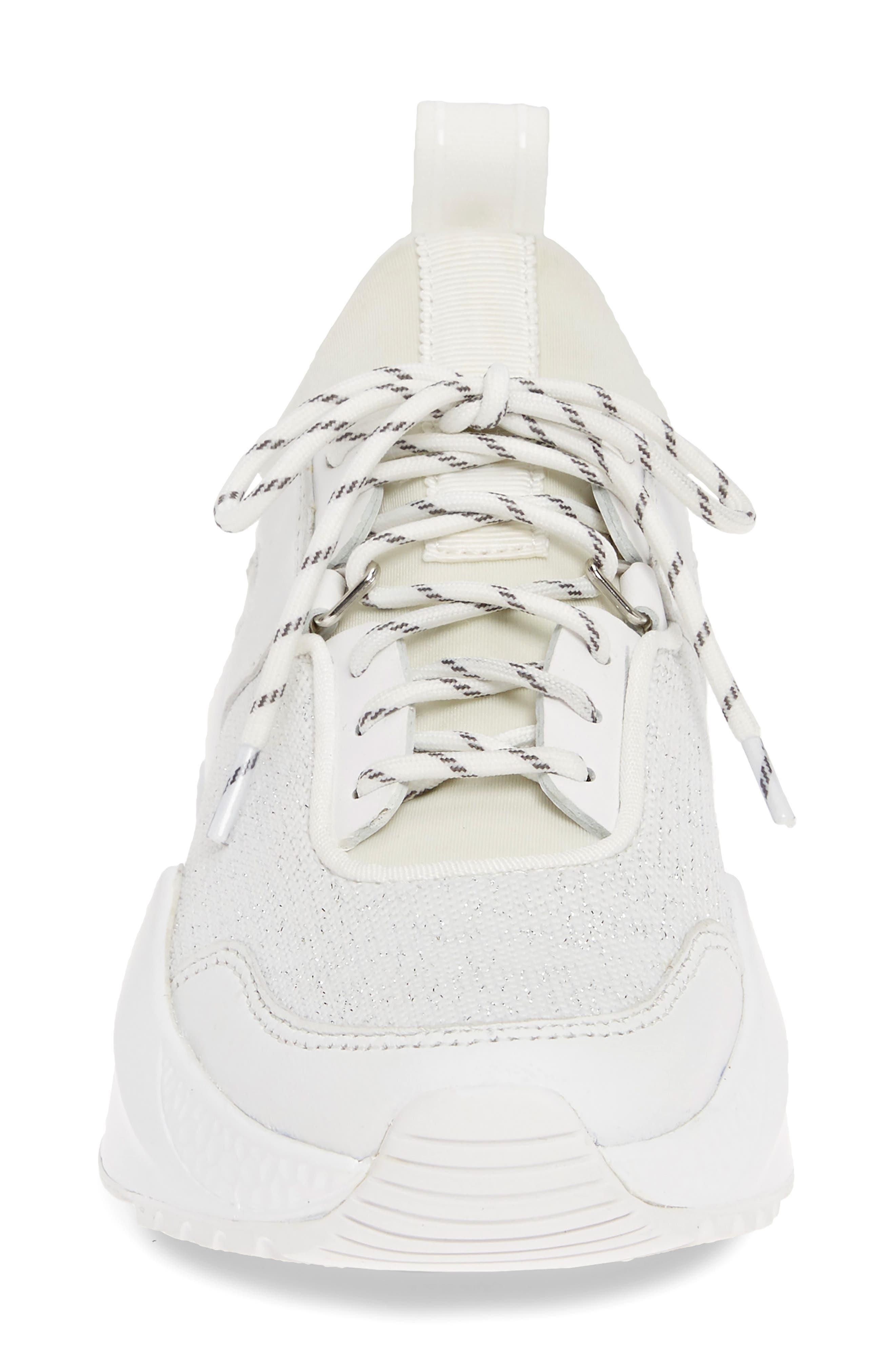 ,                             Maddox Sneaker,                             Alternate thumbnail 4, color,                             WHITE KNIT